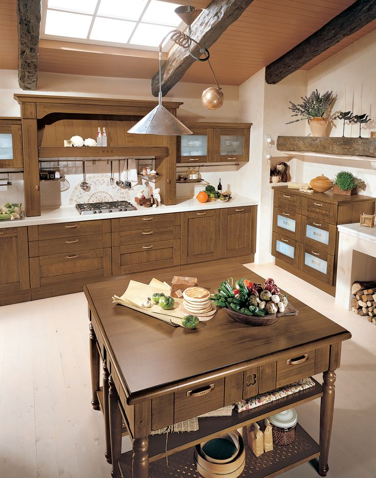 Traditional #kitchen lovers look no further, #Cucine #LUBE has this beautiful solid #wood #design that can be matched with a more #contemporary setting. We believe that the Erica is the pursuit of #detail, what do you think?