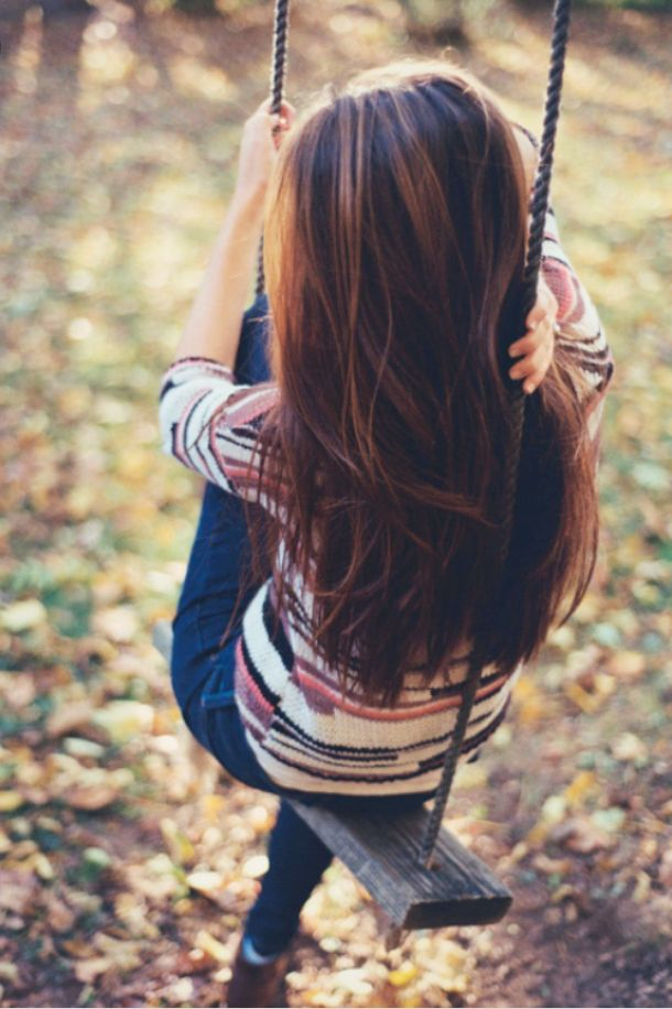 Картинки для аватарки девушка спиной