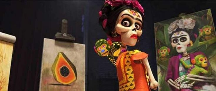 Frida Kahlo empowered an actress to fight harassment. Now she voices Frida in 'Coco.'