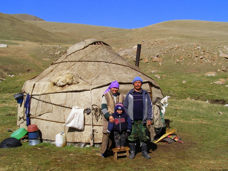 Yurt in Kyrgyzstan, Central Asia