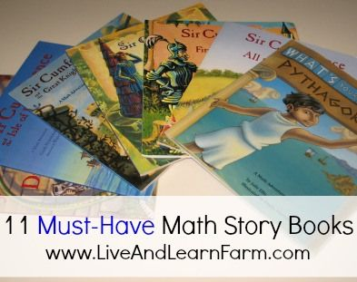 As a homeschooling mom I sometimes struggle to find reading resources, especially math that we all love. Here are 11 Must-Have Math Story Books!