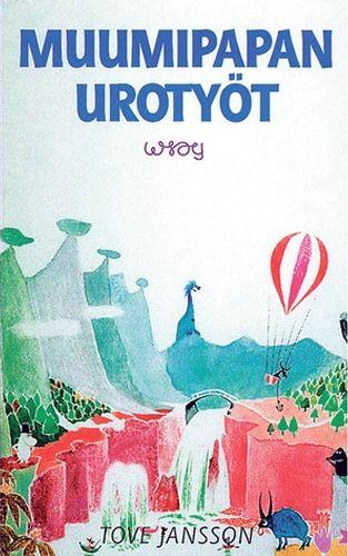 1950 Muumipapan urotyöt julkaistaan. Kirja on sarjan neljäs osa ja se julkaistaan vuonna 1968 uudestaan huomattavasti muokattuna nimellä Muumipapan muistelmat. Tämän kirjan tarina on mainittu aiemmissa Muumi-kirjoissa, joissa Muumipappa kirjoittaa muistelmiaan.