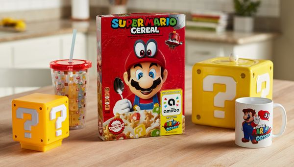 Super Mario Cereal in stock at Target.com