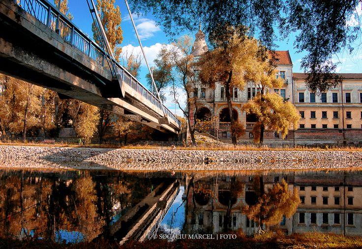 Podul Intelectualilor de pe Crisul Repede | Oradea in imagini