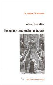 Pierre Bourdieu - Homo Academicus