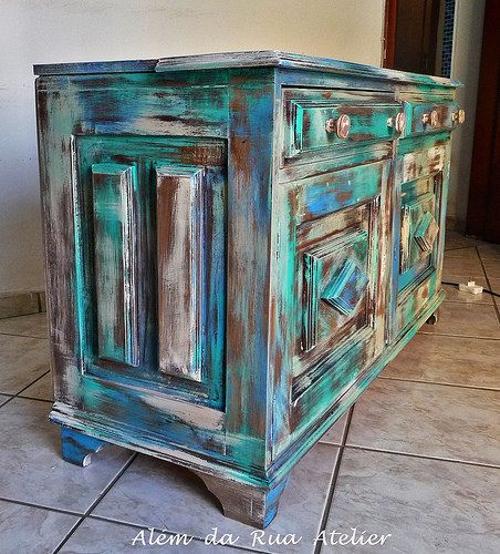 Mejores 104 im genes de tunear muebles en pinterest - Tunear muebles viejos ...