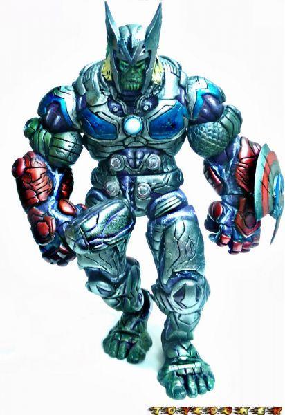Avengers Buster Super Skrull Marvel Legends Custom
