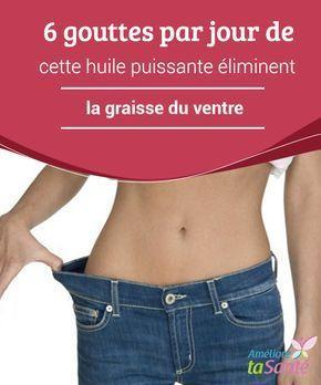 6 #gouttes par jour de cette huile puissante #éliminent la graisse du ventre La #graisse #abdominale est l'un des problèmes de santé et #esthétique parmi les plus communs chez les gens, et notamment chez les femmes
