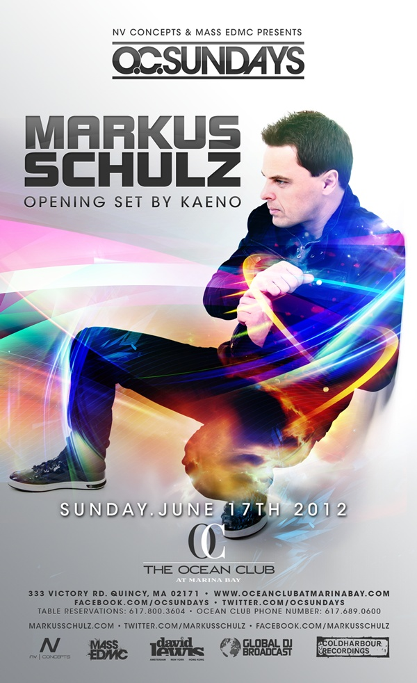 MARKUS SCHULZ @ The Ocean Club | 6.17.12 Love Markus? Visit http://trancelife.us to read our latest #GDJB reviews!