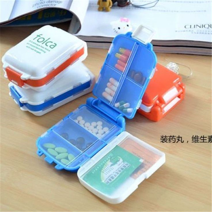 Weekly Sort Folding Vitamin Medicine Tablet Drug Pill Box Case Portable Container Organizer #clothing,#shoes,#jewelry,#women,#men,#hats,#watches,#belts,#fashion,#style