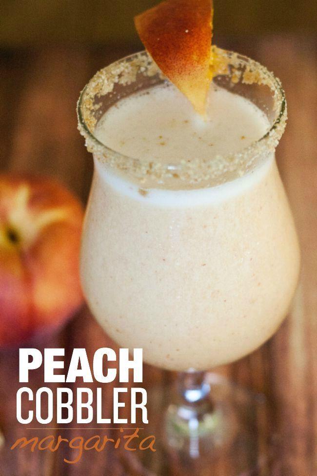 Peach Cobbler Margarita!