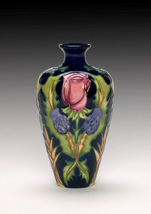 148 Best Moorcroft Designs Images On Pinterest Porcelain Pottery