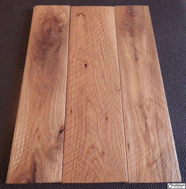 White Oak Reclaimed Hardwood Flooring Bevel Edge Circle