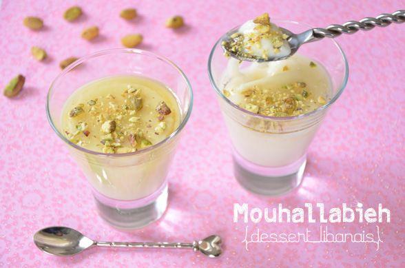 Recette de mouhallabieh, crème dessert libanaise