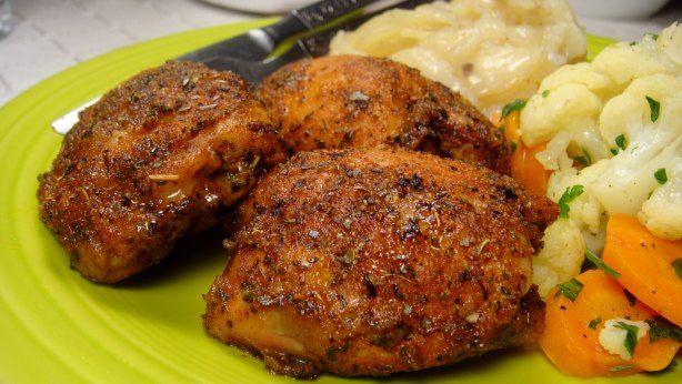 Three Ingredient Simple Chicken