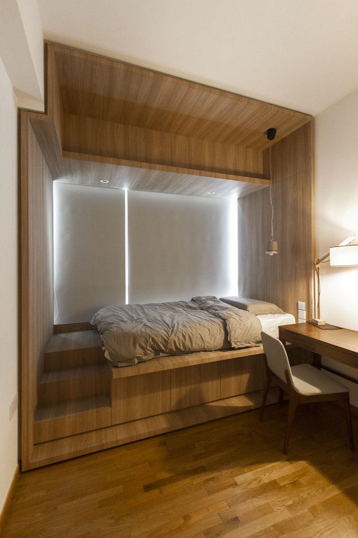 Bedroom Hdb Furniture: 20 Best HDB 2-Room Images On Pinterest