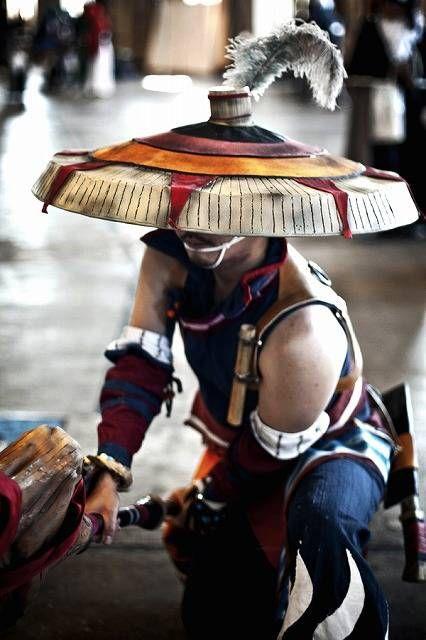 "How to make Woven hat - Monster Hunter series ""Yukumono Soubi"" - GYAKUYOGA [Tutorial of Cosplay weapon,aromor,prop]"