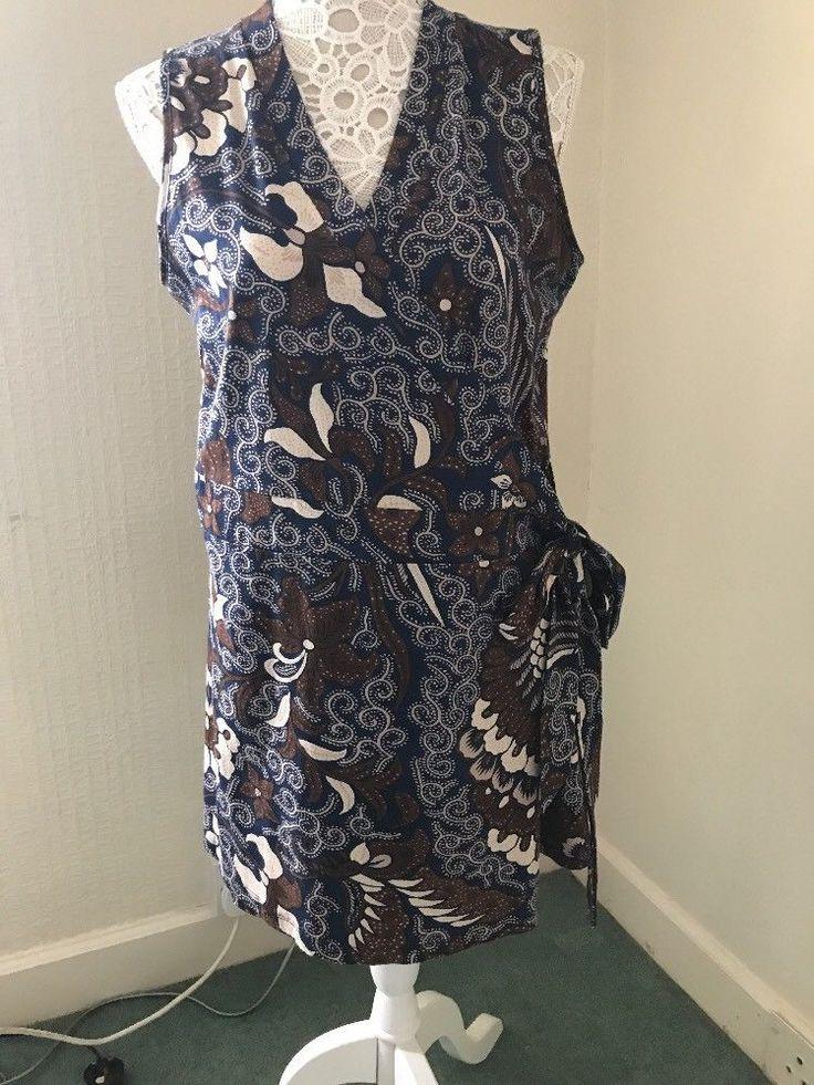 Couleurs d ete Rap over Dress Size 18/20    eBay