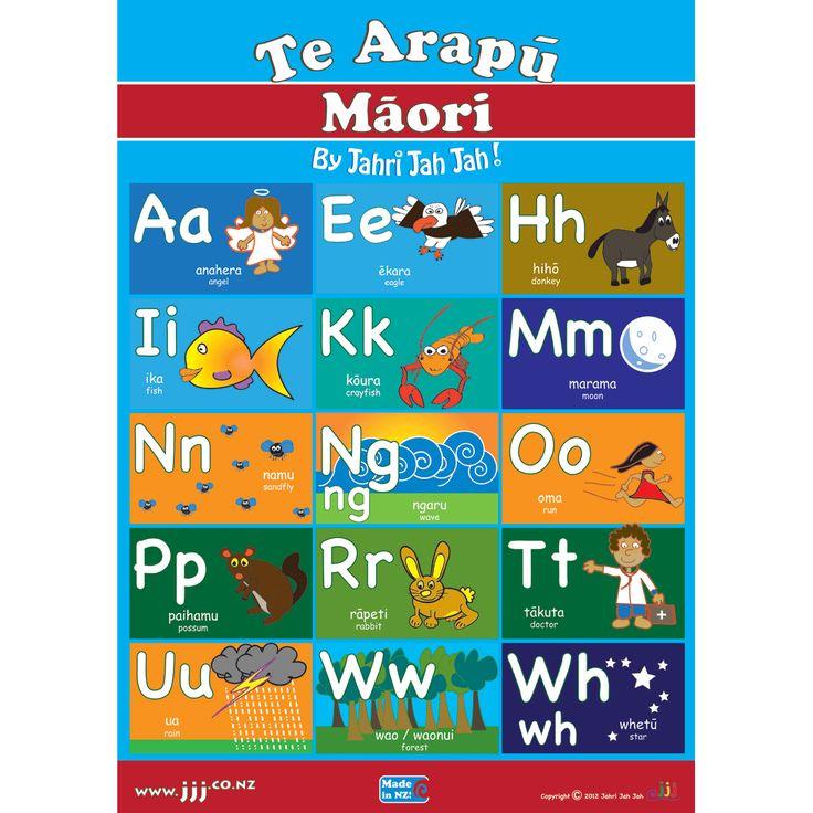maori Alphabet - Google Search