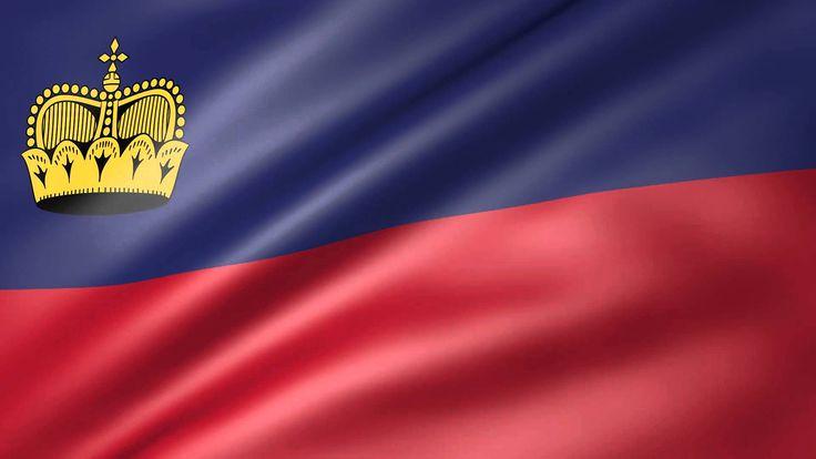 Liechtenstein Animated Flag
