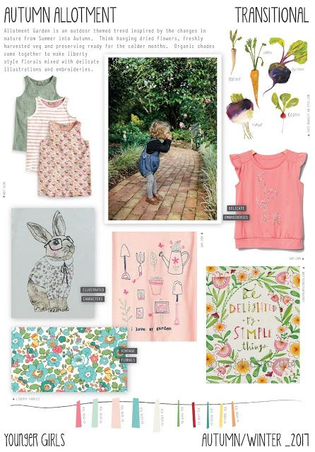 Emily Kiddy: Autumn Allotment - Autumn/Winter 2016/17 - Younger...