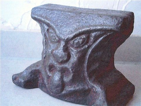 Anvil Museum Collection - Barvarian Face Anvil courtesy Bill Robertson
