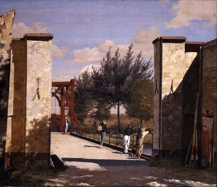 1834 - The North Gate of the Citadel - Christen Kobke