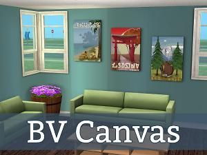 Mod The Sims - BV Canvas Poster