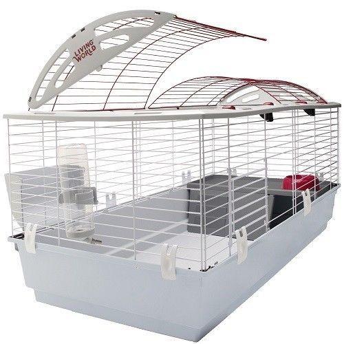 X-Large Pet Animal Habitat Cage House Rabbit Hutch Guinea Pig Ferret Supplies #LivingWorld