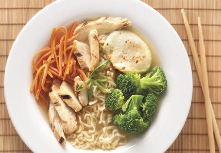 Ramen revamped into a spicy, healthier dish. #AldiFresh