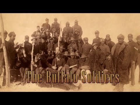 MOMENTS IN TIME | The Buffalo Soldiers in New Mexico | New Mexico PBS...my grandfather was there...