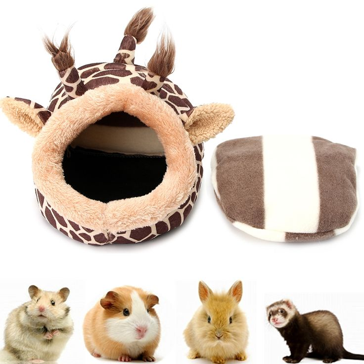 Small Pet House Pets Kennels Tent Bed Soft Pet Pad for Small Animals Pet Supplies