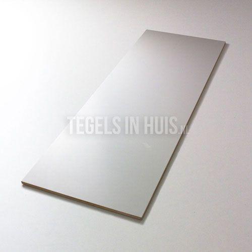 Wandtegel 30x80 mat wit gerectificeerd - Artikelcode: TOZCW074. - Nu in de aanbieding voor slechts € 17,75 p/m2 incl. BTW bij Tegels in Huis.nl