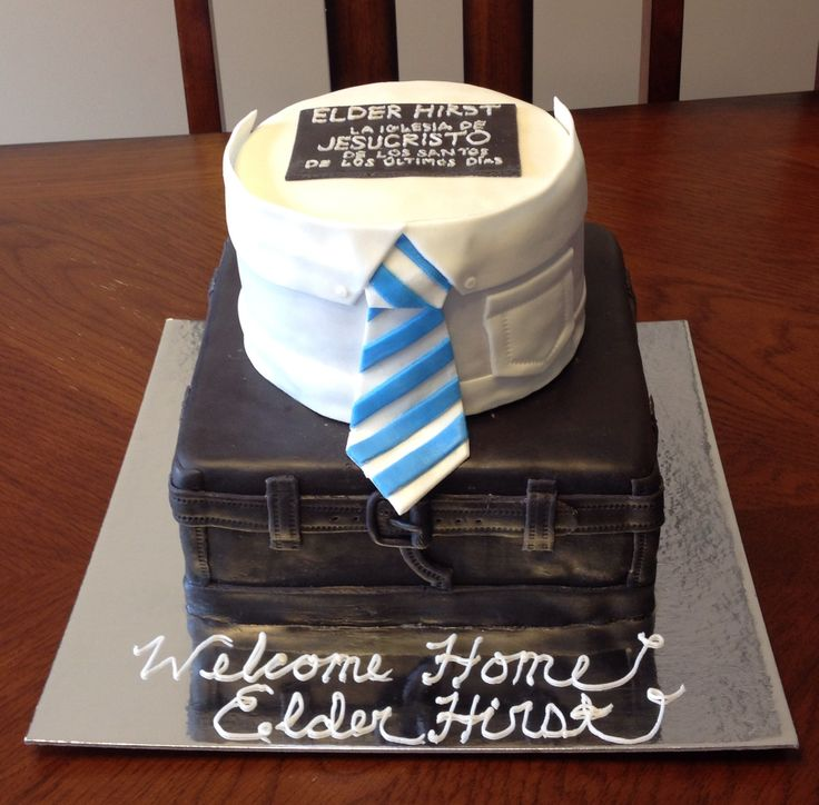 LDS Missionary Homecoming Cake Missionary Pinterest