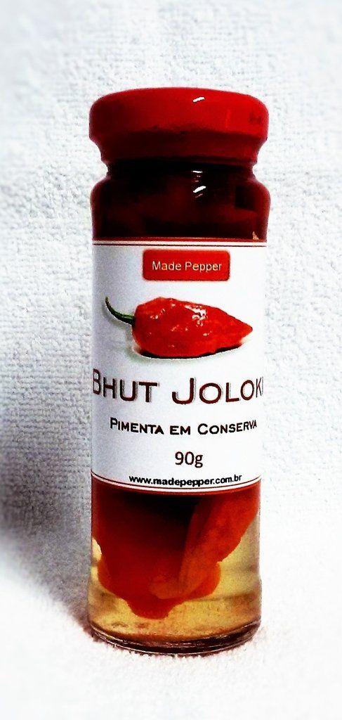 Veja nosso novo produto Pimenta Bhut Jolokia Em Conserva 90g - Made Pepper! Se gostar, pode nos ajudar pinando-o em algum de seus painéis :)