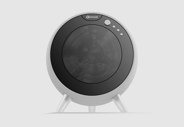 Future Bauknecht Round Washing Machine Blends Perfectly Into Your Modern Living Environment | Tuvie