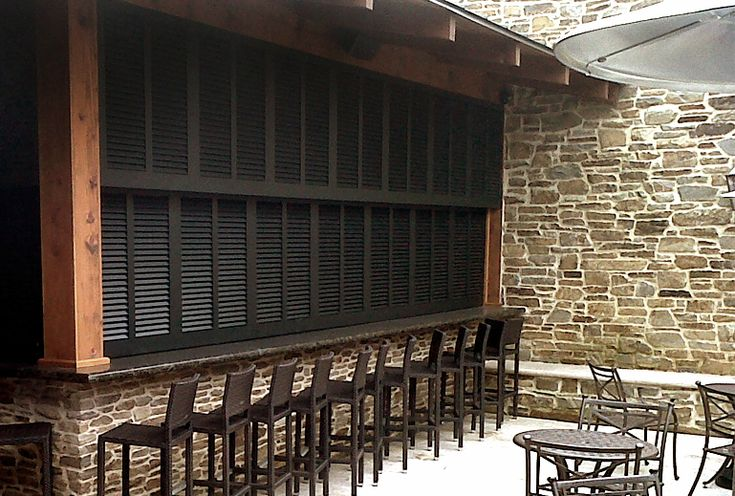 156 best alternative uses for shutters images on pinterest home ideas old window shutters and for Alternatives to exterior shutters