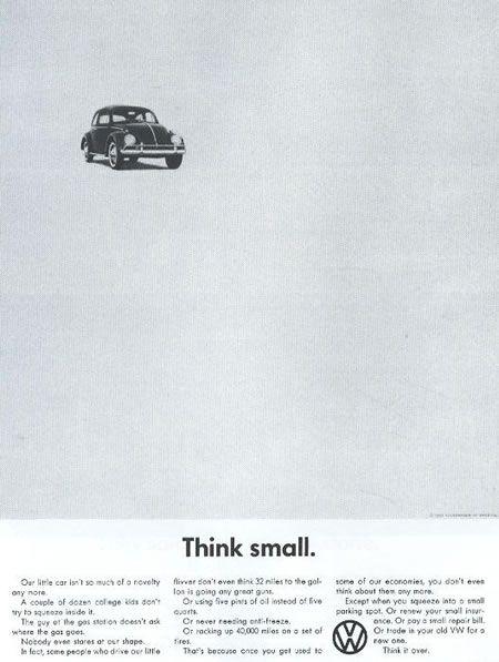 Carros & Clásicos. Piensa pequeño, apareció en 1960.