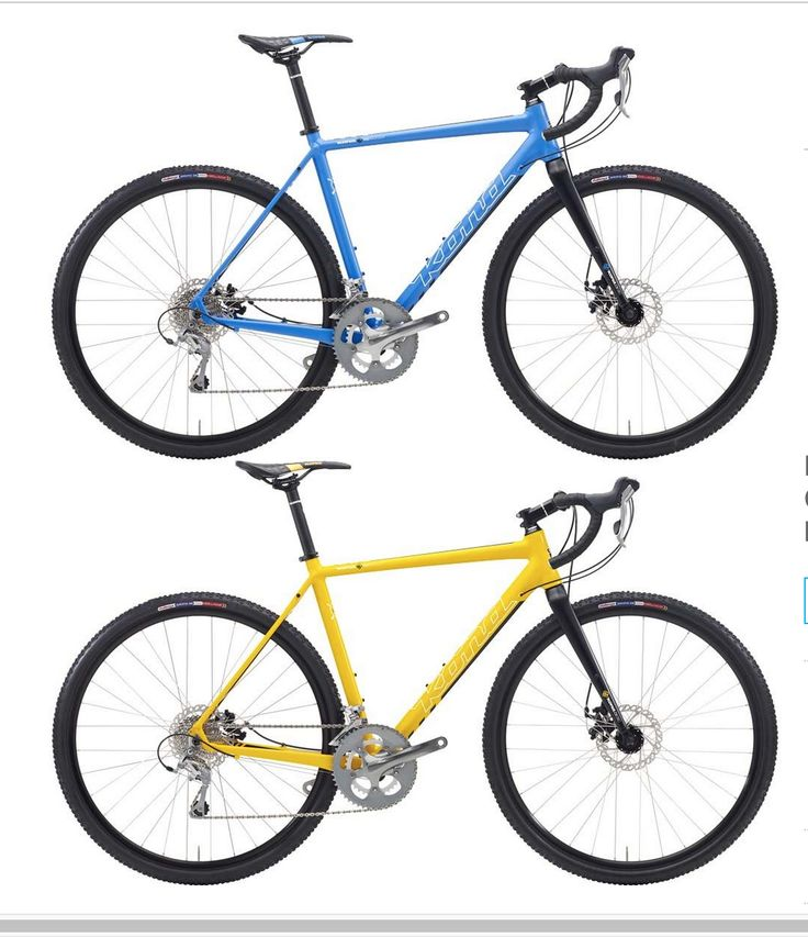Kona Jake Cyclocross Bike - the bike of my dreams.  I'm jealous that in the UK this year (2015) you could get it in yellow, but here at home we only get the blue.  Oh well, it's my dream bike so I'll dream I can have it in yellow here too.