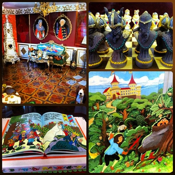 Marzipan museum in Eger, Hungary. Everything in this photo - yes, including the entire furnished room - is made of marzipan. Very impressive! #travel #hungary #eger #food #museum #marzipan #culture