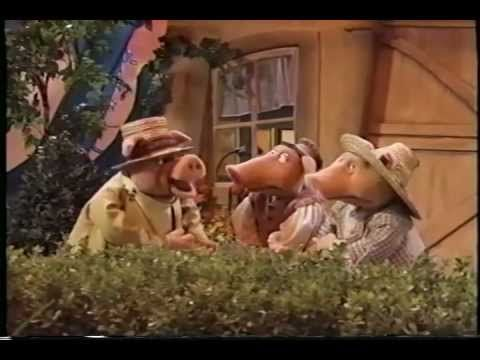 YouTube muppets 3 pigs  I love to use this in my class when do our unit comparing and contrasting different versions of the three little pigs