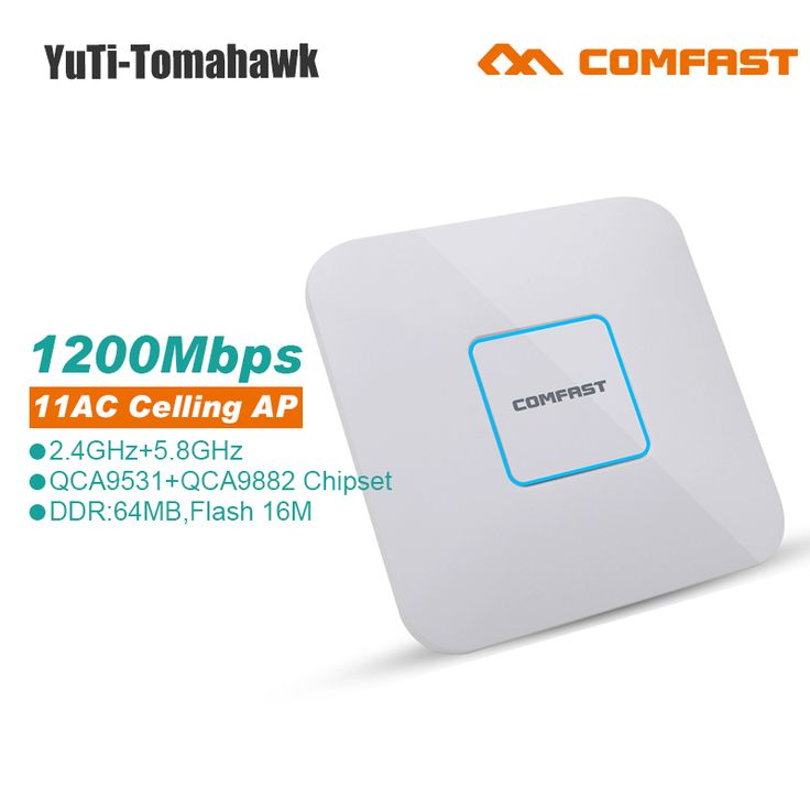 COMFAST 1200mbps Dual Band wireless indoor AP 2.4G+5.8GHz Wi fi Access Point AC routers Range extender Signal Booster Amplifier #Affiliate