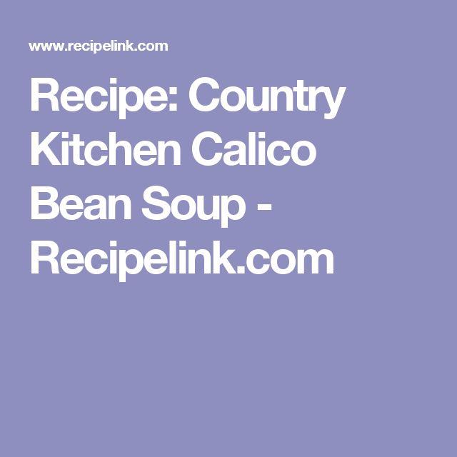 Meer Dan 1000 Ideeën Over Calico Bonen Recept Op Pinterest