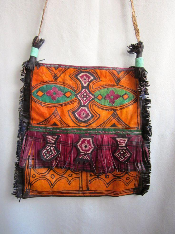 Statement Clutch - Tuareg Indigo Series 36b by VIDA VIDA 7ibqnxy