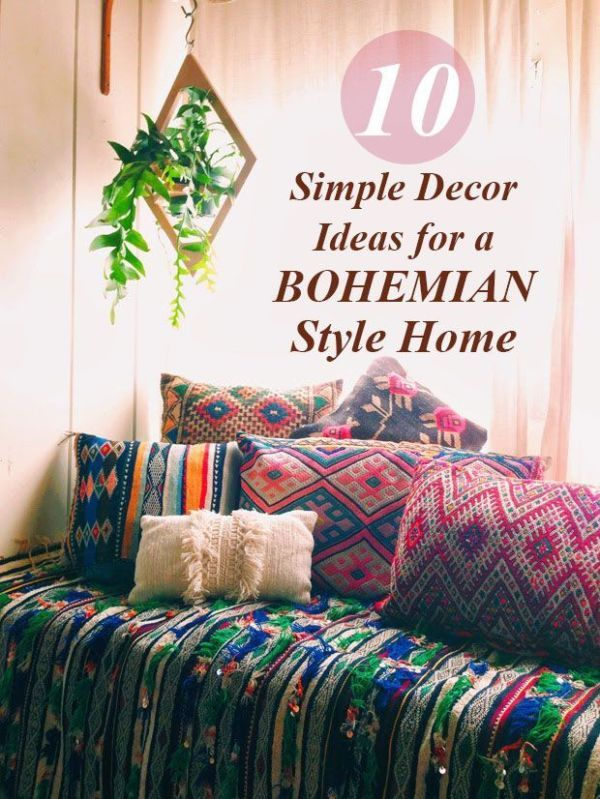 Looking for some home inspiration? Warm, relaxed, and inviting, why not make try boho? By simply swapping out the accessories that you already have, and adding a few great funky additions you can have a beautiful new space in no time. It doesn't have to be elaborate or expensive - boho is all about a natural, no-fuss feel. Read on as eBay shares 10 easy ideas to get you started on the boho home of your dreams.