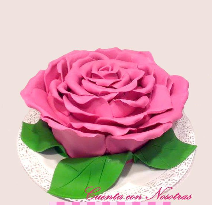 Torta Rosa Torta Flor Rose Cake Flower Cake