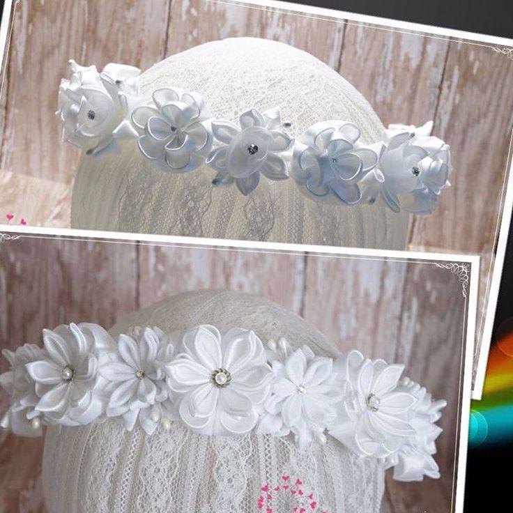 #handmade #hairaccessories #accesoriosparaniña #headban #flowercrowns