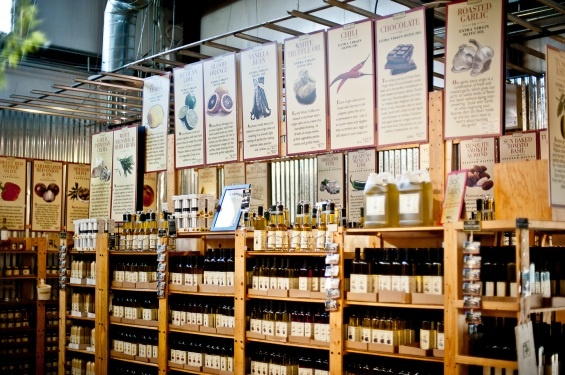 The Queen Creek Olive mill sells an assortment of olive oil, vinegar, stuffed olives, and more! Visit their market place, take a tour, and get some lunch. Make a day of it...just a short drive from Mesa Arizona.