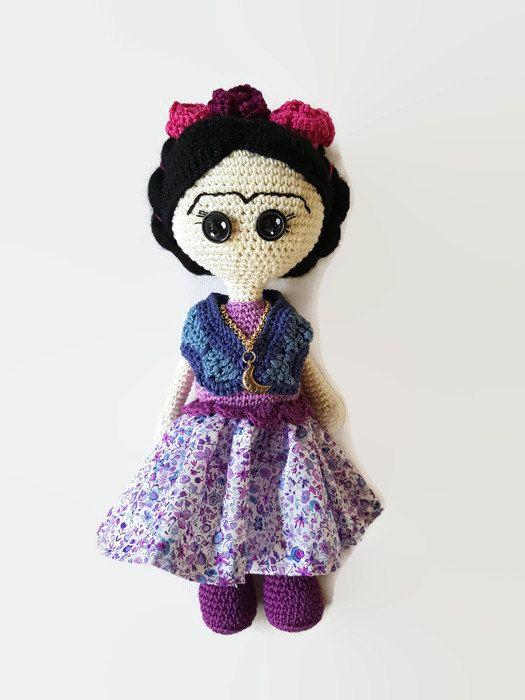13 best frida images on Pinterest   Amigurumi patterns, Cat crochet ...