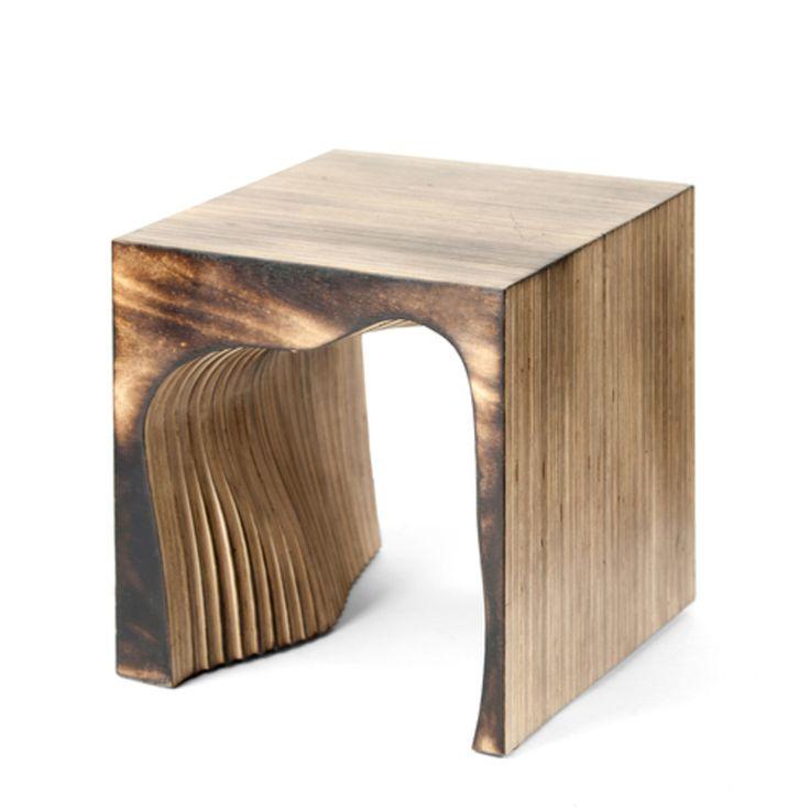Маленький табурет из натурального дерева ценен своей фактурой и естественным цветовым решением. Оригинальное основание создает множество ассоциаций.  Материал: березовая фанера, огонь, водный лак. Отделка: натуральная фанера, жженая фанера, винтажный черный, винтажный белый, винтажный серый. Срок изготовления: 4-5 недель.  Варианты размеров: 250 x 250 x250 mm (+900p.)300 x 300 x300 mm (+3 700p.)350 x 350 x350 mm (+5 700p.)400 x 400 x400 mm (+9 700p.)